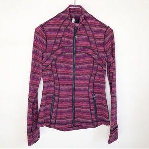 Lululemon Define Jacket Red Pink Size 8